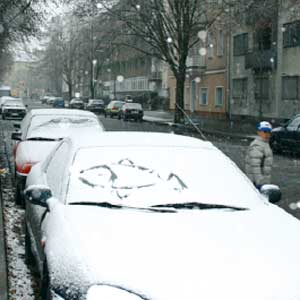 Berlin. Берлин. Первый снег.