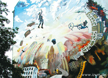 Берлинское граффити, Берлин