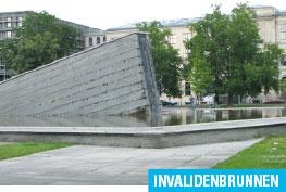Фонтаны, Берлин, вода