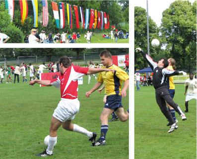 Футбол, Берлин, посольский турнир, Украины, Россия