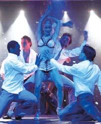 Берлин, Liberte, erotic show